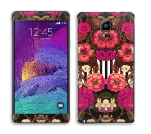 Rosa blomster Skin Galaxy Note 4