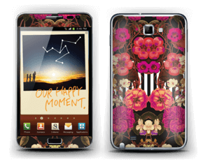 Rosa blomster Skin Galaxy Note
