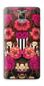 Rosa blomster Skin OnePlus 3