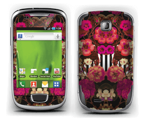 Floral crossing in pink Skin Galaxy Mini