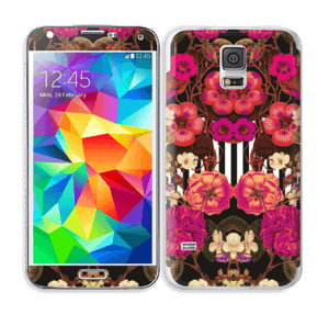 Rosa blomster Skin Galaxy S5