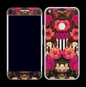 Rosa blomster Skin Pixel