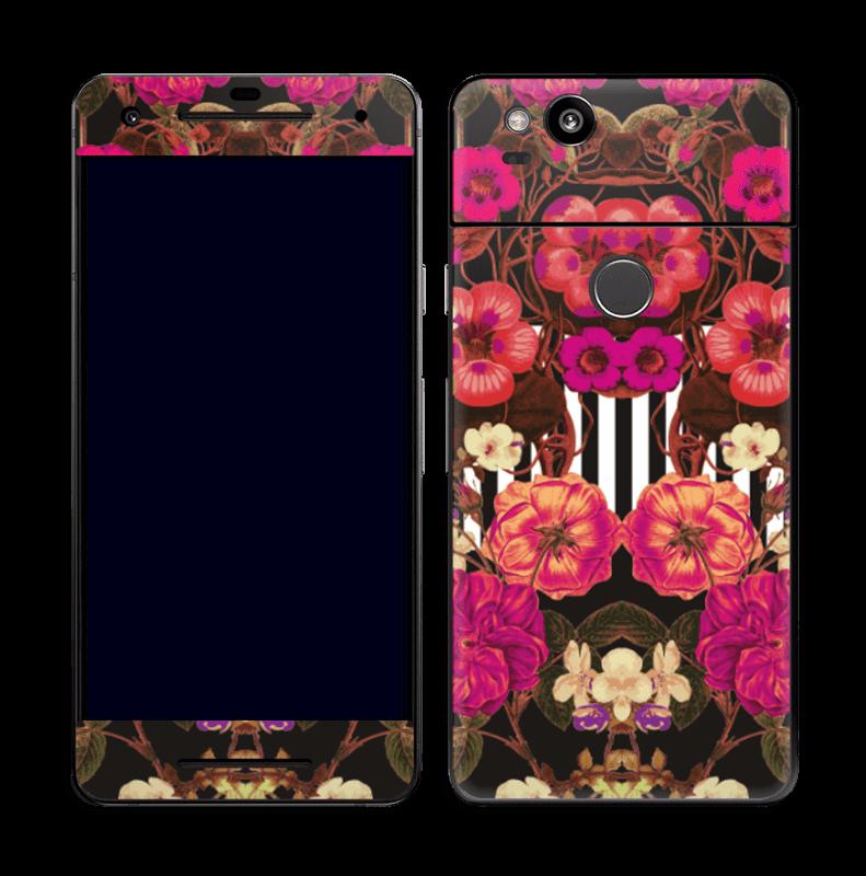 Rosa blomster Skin Pixel 2