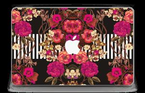 """Floral crossing in pink Skin MacBook Air 11"""""""
