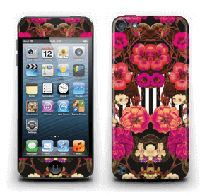 Rosa blomster Skin IPod Touch 5th Gen