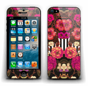 Rosa blomster Skin IPhone 5