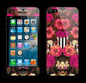 Roze bloemen Skin IPhone 5