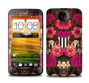 Floral crossing in pink Skin One X