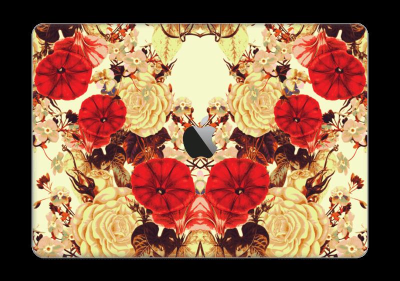 "Symetriske blomster Skin MacBook Pro 13"" 2016-"