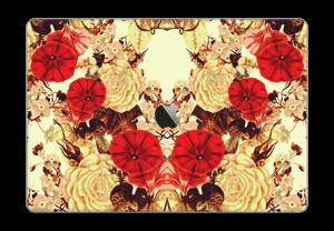 "Symetriske blomster Skin MacBook Pro 15"" 2016-"
