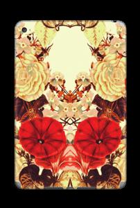 Symetriske blomster Skin IPad Mini 4
