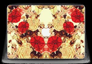 """Fleurissement lumineux Skin MacBook Pro Retina 13"""" 2015"""