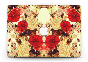 "Symetriske blomster Skin MacBook Pro Retina 13"" 2015"