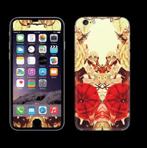 Symetriske blomster Skin IPhone 6/6s
