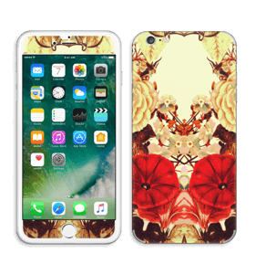 Symetriske blomster Skin IPhone 6 Plus