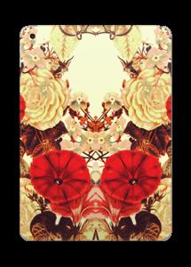 Symetriske blomster Skin IPad 2017