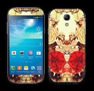 Symetriske blomster Skin Galaxy S4 Mini