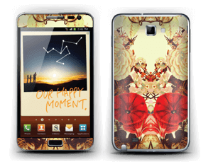 Floral symmetry Skin Galaxy Note
