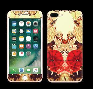 Symetriske blomster Skin IPhone 7 Plus