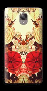 Symetriske blomster Skin OnePlus 3