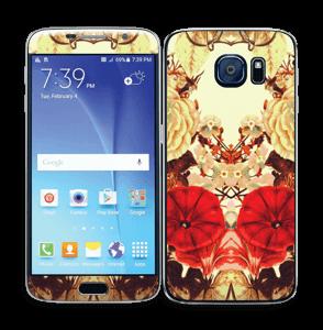 Symetriske blomster Skin Galaxy S6
