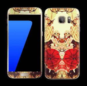 Floral symmetry Skin Galaxy S7
