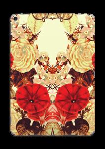 Symmetrische bloemen Skin IPad Pro 10.5