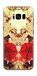 Symetriske blomster Skin Galaxy S8