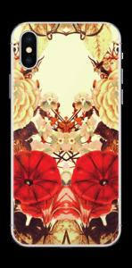 Symetriske blomster Skin IPhone XS