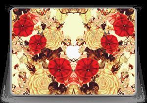 "Symetriske blomster Skin MacBook Pro 13"" -2015"