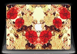 "Symmetrische bloemen Skin MacBook Air 13"""