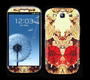 Symetriske blomster Skin Galaxy S3