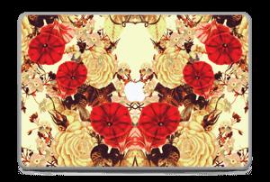 "Symetriske blomster Skin MacBook Pro 17"" -2015"