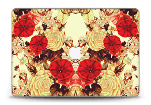 "Floral symmetry Skin MacBook Pro Retina 15"" 2015"