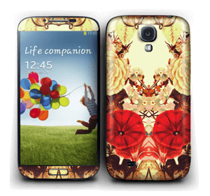 Floral symmetry Skin Galaxy S4