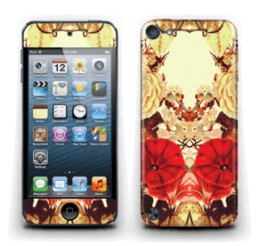 Symetriska blommor Skin IPod Touch 5th Gen