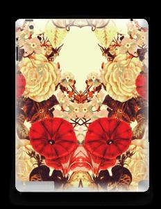 Symetriske blomster Skin IPad 4/3/2