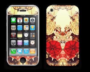 Symetriske blomster Skin IPhone 3G/3GS