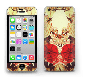 Symmetry of floret Skin IPhone 5c