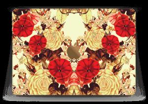"Symetriske blomster Skin MacBook 12"""