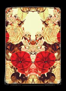 Symetriske blomster Skin IPad Pro 12.9