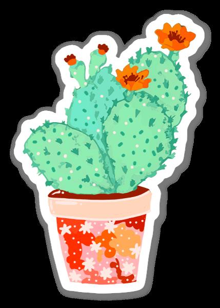 Cactus Mint pegatina