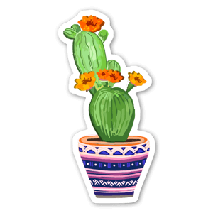Cactus Love 4 sticker