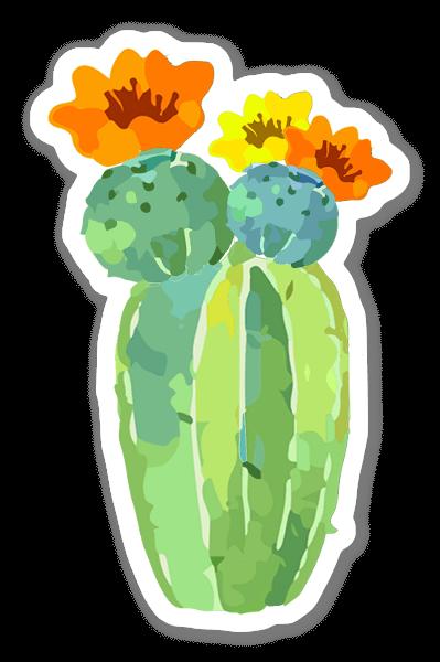Cactus Love 6  sticker