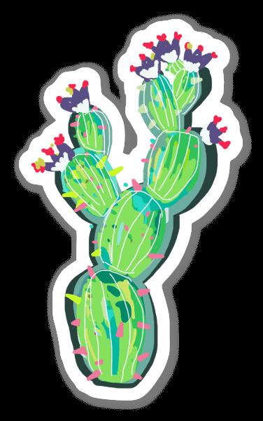 Cactus love 8 sticker