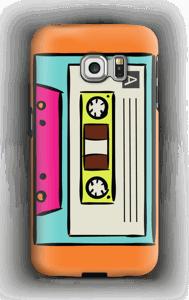 Mixtape deksel Galaxy S6 Edge