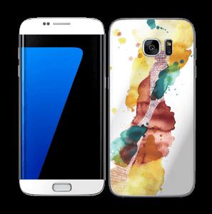 Altijd in beweging Skin Galaxy S7 Edge