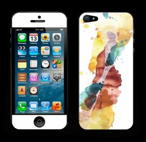 Altijd in beweging Skin IPhone 5
