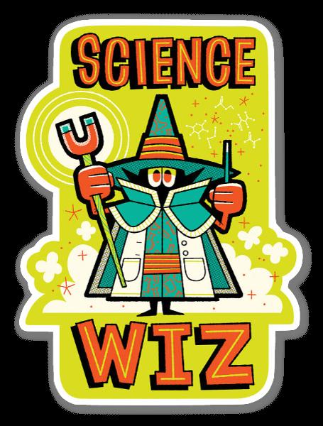 Science Wiz  sticker