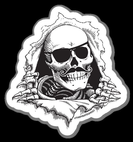 PirateGhost Ripper  sticker